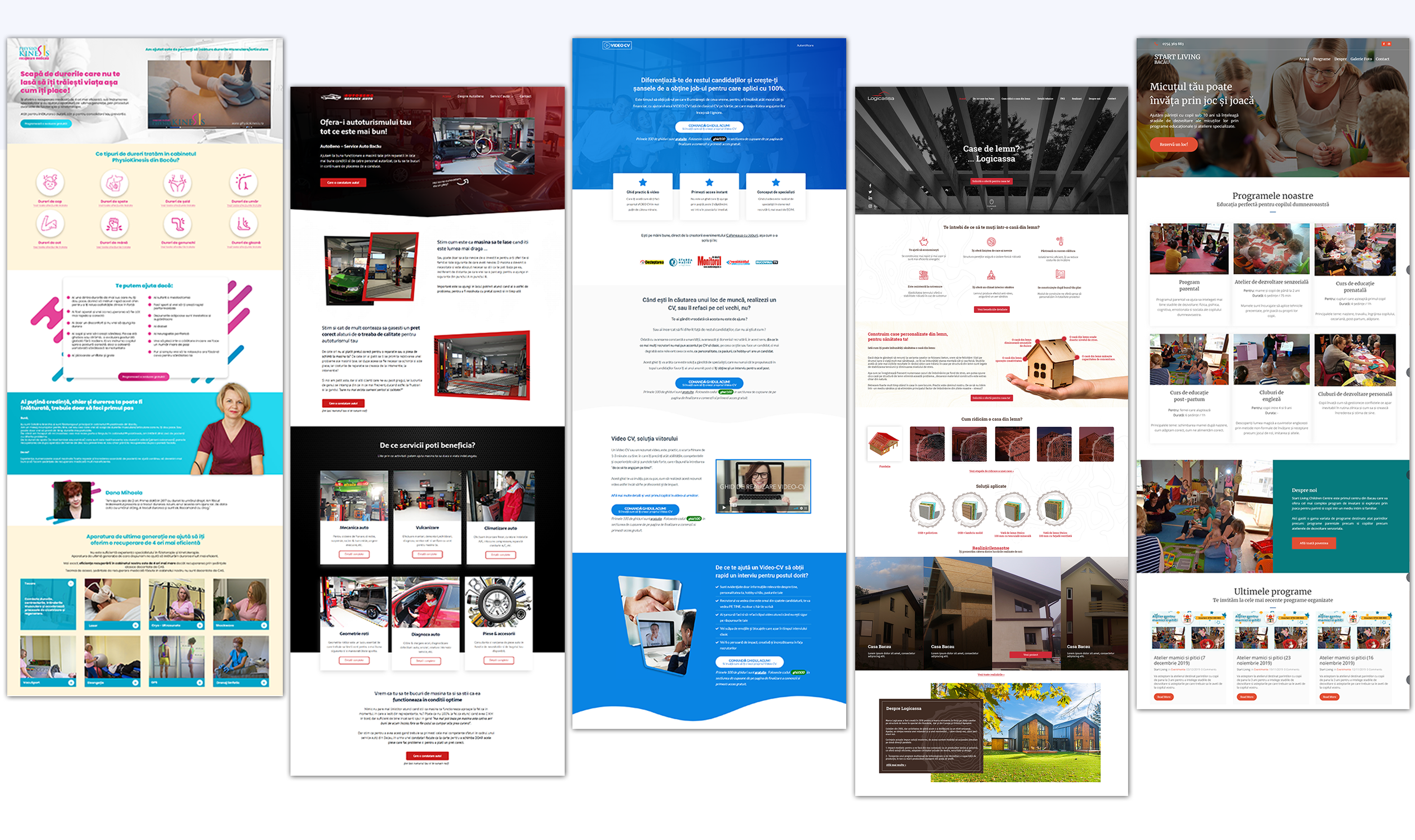 Creare site web - Servicii Web Design - Portofoliu One Way Agency